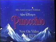 Pinocchio The 60th Anniversary Edition Preview