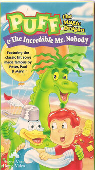 Puff the magic dragon and the incredible mr nobody buena vista vhs