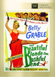 1949 - The Beautiful Blonde from Bashful Bend DVD Cover (2013 Fox Cinema Archives)