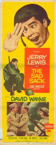 1957 - The Sad Sack Movie Poster