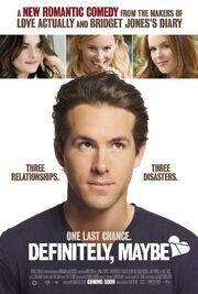 2008 - Definitely, Maybe Movie Poster