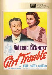 1942 - Girl Trouble DVD Cover (2014 Fox Cinema Archives)