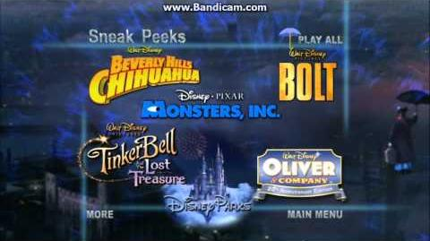 Video sneak peeks menu from mary poppins dvd for Nick s fish house menu