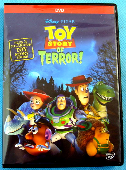Opening To Toy Story Of Terror (PHE Print) 2014 DVD ...