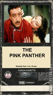 The Pink Panther (Original Peter Sellers Version) (1980 VHS Cover - Magnetic Video Corporation Version)