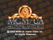 MGM-UA Home Video Copyright Screen (2004)