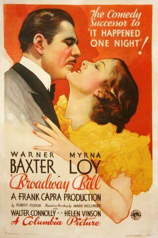 File:1934 - Broadway Bill Movie Poster.jpg