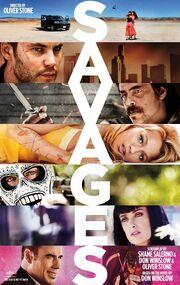 2012 - Savages Movie Poster