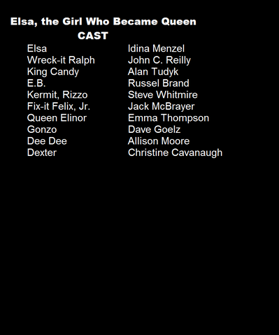 File:Elsa the Girl Who Became Queen Cast List.png