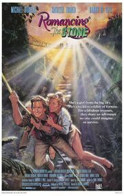 1984 - Romancing the Stone Movie Poster -1