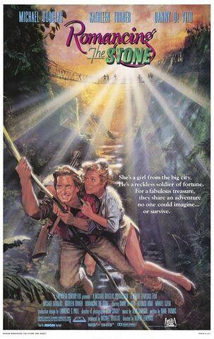 File:1984 - Romancing the Stone Movie Poster -1.jpg