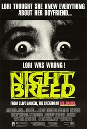 1990 - Nightbreed Movie Poster