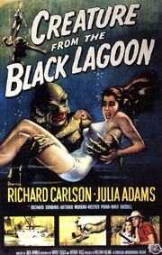 1954 - Creature from the Black Lagoon Movie Poster