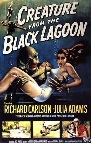 File:1954 - Creature from the Black Lagoon Movie Poster.jpg