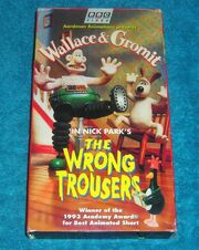 Wallace & Gromit The Wrong Trousers VHS