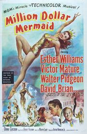 1952 - Million Dollar Mermaid Movie Poster