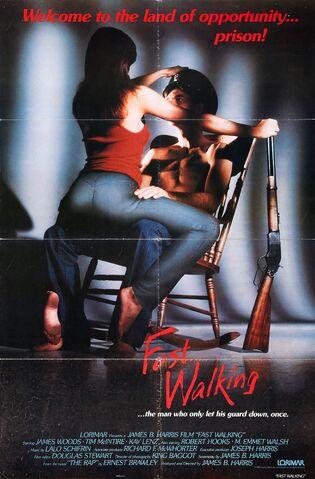 File:1982 - Fast-Walking Movie Poster.jpg
