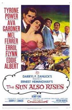 1957 - The Sun Also Rises Movie Poster