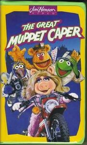 The Great Muppet Caper VHS