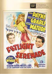 1942 - Footlight Serenade DVD Cover (2014 Fox Cinema Archives)