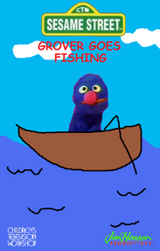 Grover Goes Fishing Cover