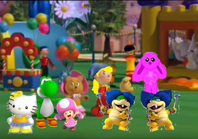 File:Hello yoshi, Ludwig and Toadette.PNG