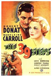 1935 - The 39 Steps Movie Poster