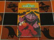 Elmo Says Boo! VHS
