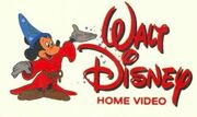 Sorcerer Mickey Walt Disney Home Video Early 1980s Logo