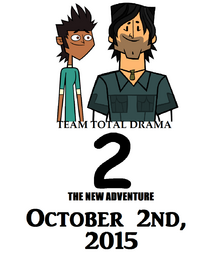 Team Total Drama 2 The New Adventure Poster