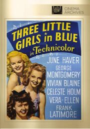 1946 - Three Little Girls in Blue DVD Cover (2013 Fox Cinema Archives)