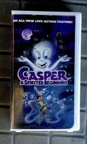 Casper A Spirited Beginning VHS