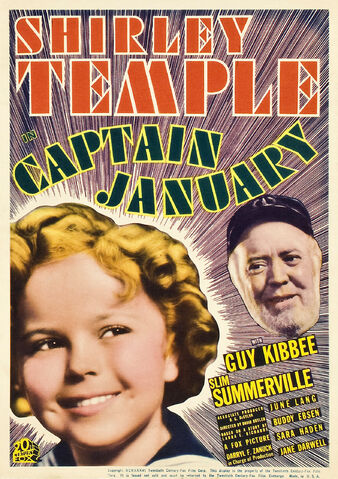 File:1936 - Captain January Movie Poster.jpg