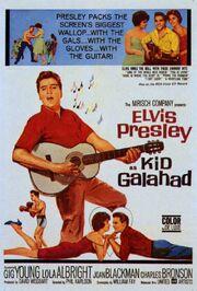 1962 - Kid Galahad Movie Poster