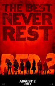 2013 - Red 2 Movie Poster