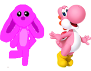 Marie and Pink yoshi
