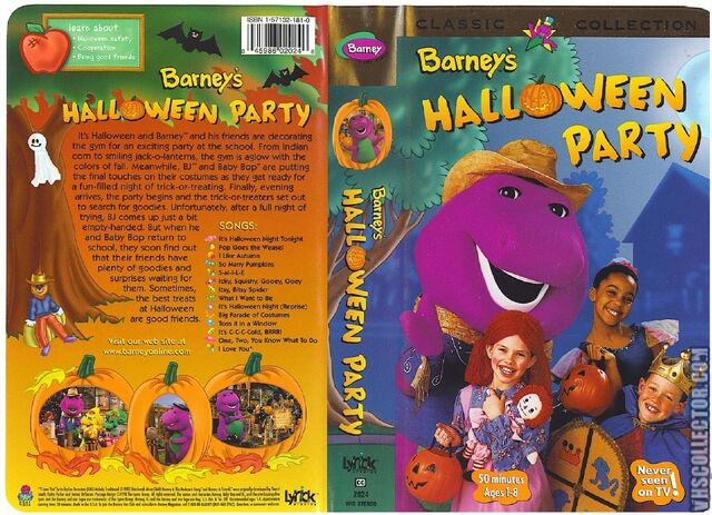 File:Barney's Halloween Party VHS Front Spine & Back Covers.jpeg