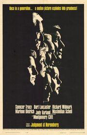 1961 - Judgement at Nuremberg Movie Poster