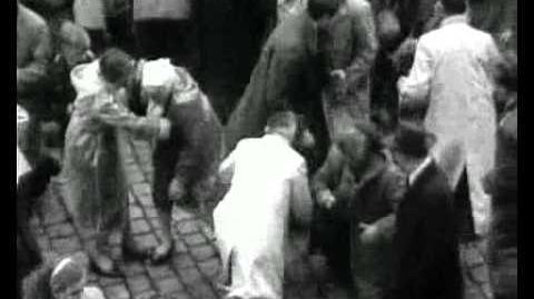Sint-Romboutstoren Klokkenwerpen 1954
