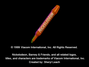 Nickelodeon Logo From musical scrapbook