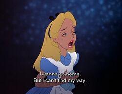 Alice Crying