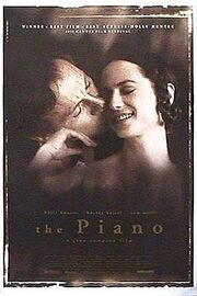 1993 - The Piano Movie Poster