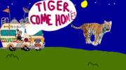 Uncle Grandpa Tiger Come Home Title Card