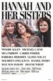 1986 - Hannah and Her Sisters Movie Poster