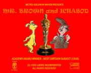 Mr Brown and Ichabod Title Logo (Oscars Variant)