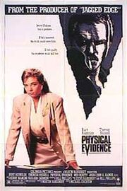 1989 - Physical Evidence Movie Poster