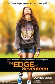 2016 - The Edge of Seventeen Movie Poster