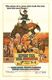 1971 - Support Your Local Gunfighter Movie Poster