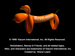 Nickelodeon Logo From making new friends