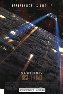 Star Trek First Contact (1996) Poster
